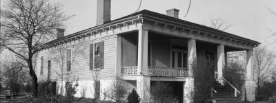 Cauthen House in Auburn – grandchildren found coins where 1st house burned