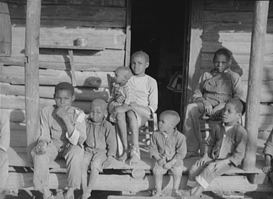 Children at Gee's Bend in 1937