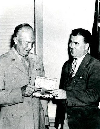 Raymond Weeks petitions President Eisenhower, Nov 11, 1946 to establish National Veterans Day