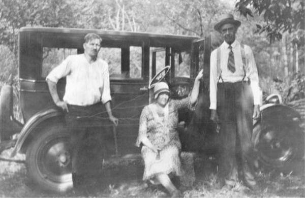 Unidentified family from Berry, Alabama from rootsweb