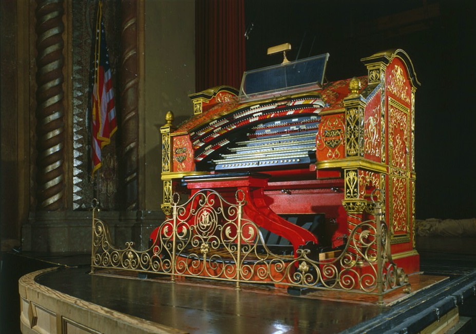 Alabama Theatre Wurlitzer Organ by photographer Jack E. Boucher (Library of Congress)