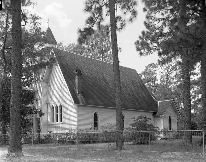 St. Pauls Episcopal Chapel Magnolia Springs, 1962 (Alabama Department of Archives and History)
