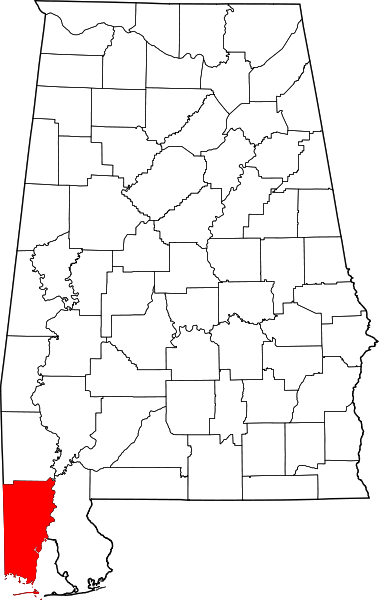 map of Mobile