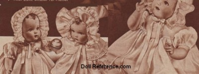 Patron+ Good Ole Days – Dress for dolls converted to dress for children.