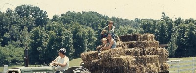 THROWBACK THURSDAY: Making hay while the sun shines - thankful for the work ethic I learned