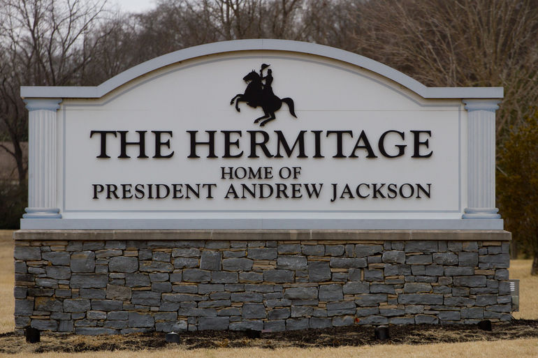 Hermitage sign