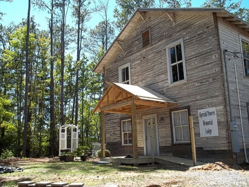Plank road station, Alpine, Alabama