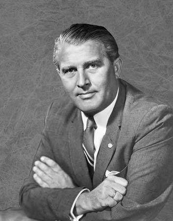 Wernher von Braun. (britannica.com)