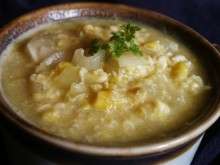 Patron+ RECIPE WEDNESDAY: Looking for a simple old-fashioned recipe for a cold day? How about a bowl of corn soup?