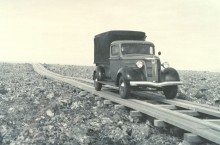 PATRON + Imagine traveling on plank roads like this between cities in Alabama
