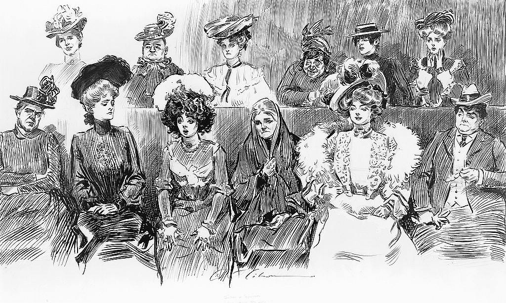 when women were jurors
