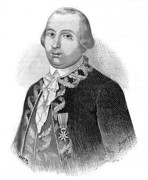 Bernalde de Galvez (1746-1786)