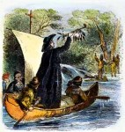 Priest, Fur Trader And Explorer Search For The Mouth Of The Mississippi River