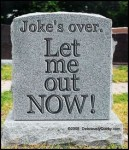 Patron+ TOMBSTONE TUESDAY: Funny Tombstones