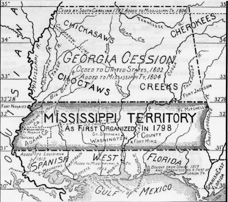 Early Mississippi Territory