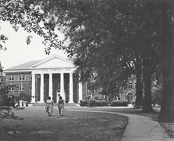 Julia Tutwiler Hall at University of Alabama (University of Alabama library)