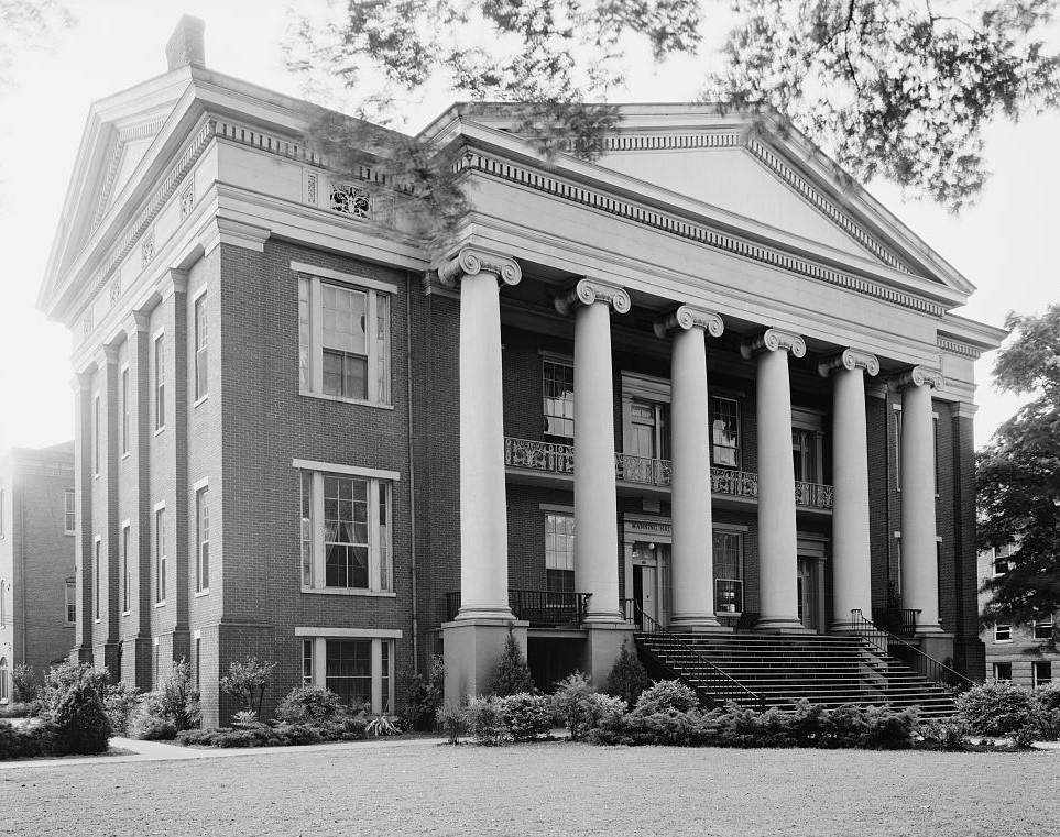 Masonic Female Institute, Talladega, Talladega County, Alabama 1939 (Frances Benjamin Johnston Library of Congress)