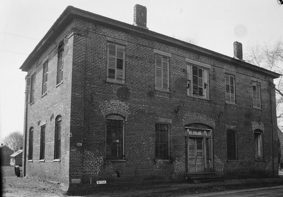Masonic Hall, Second & Church Streets, Benton, Lowndes County, AL (Library of Congress)