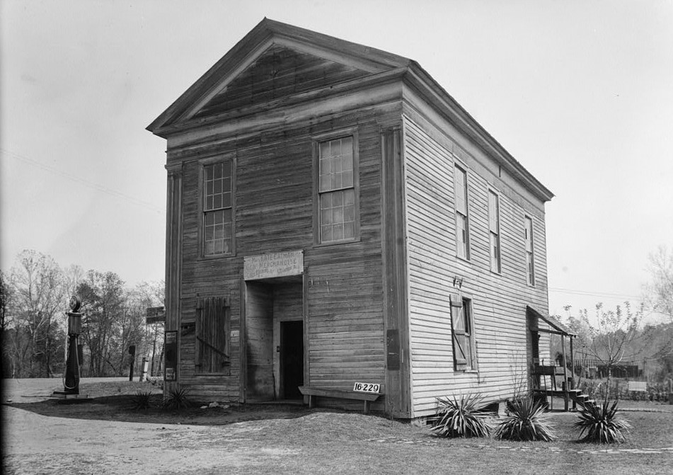 Masonic Temple, State Routes 14 & 39, Clinton, Greene County, AL 1939 (Library of Congress)