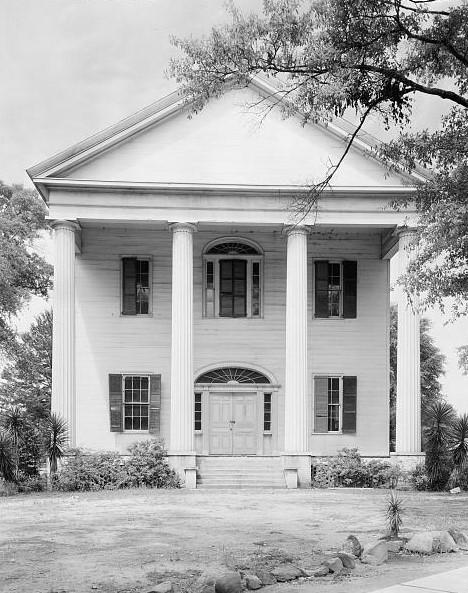 Masonic building in Camden, Wilcox County, Alabama (Benjamin Johnston Library of Congress)