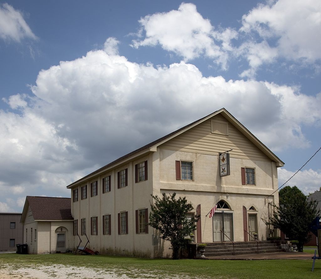Masonic building in Sheffield, Alabama (Carol Highsmith Library of Congress)