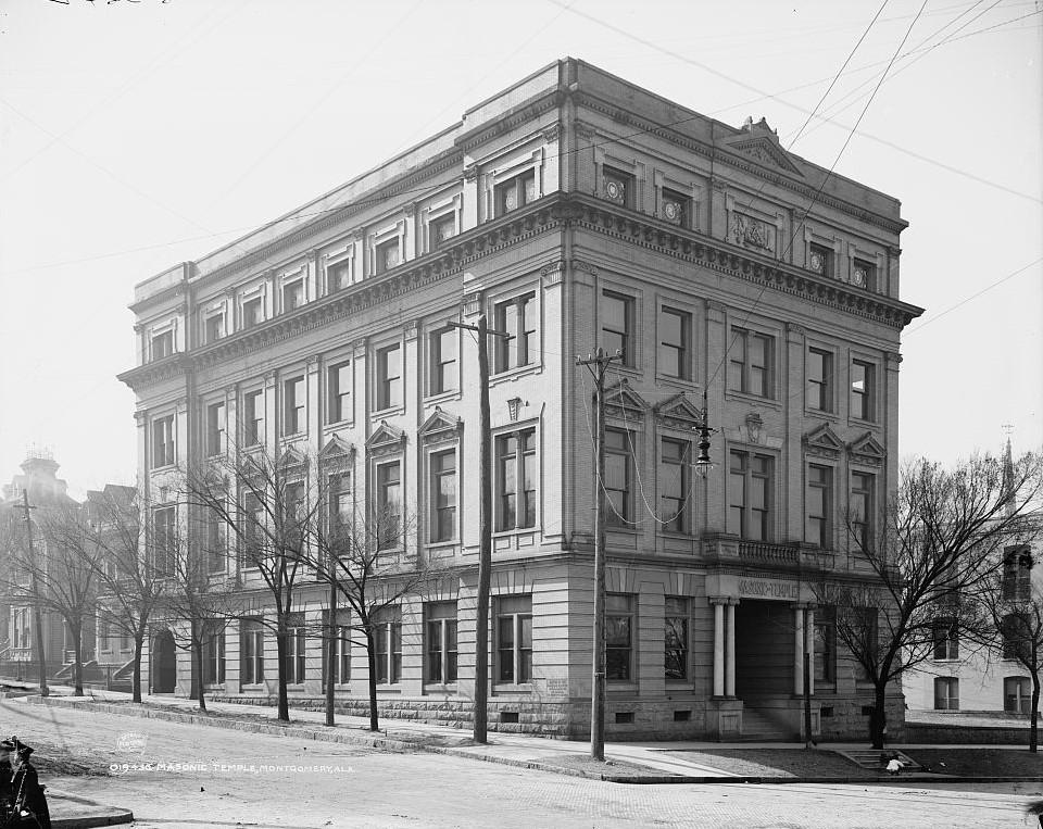 Masonic temple, Montgomery, Ala. 1906 (Detorit Publishing Co., Library of Congress)