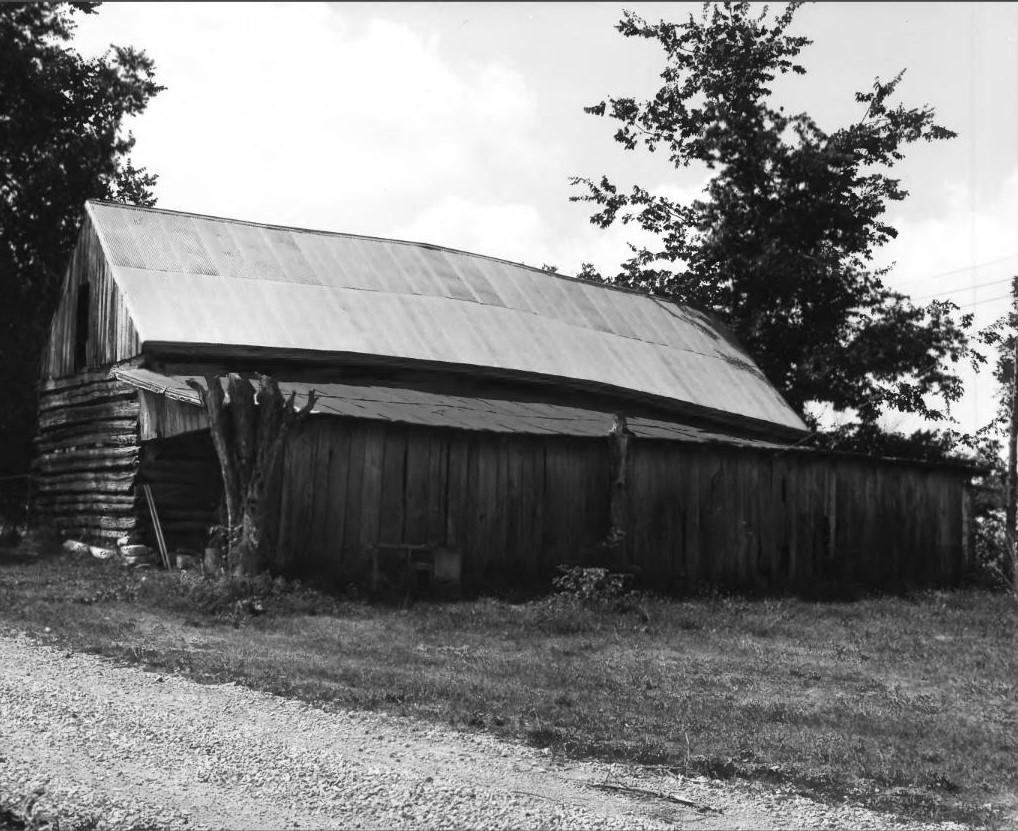 Susan Henry madison log cabin back