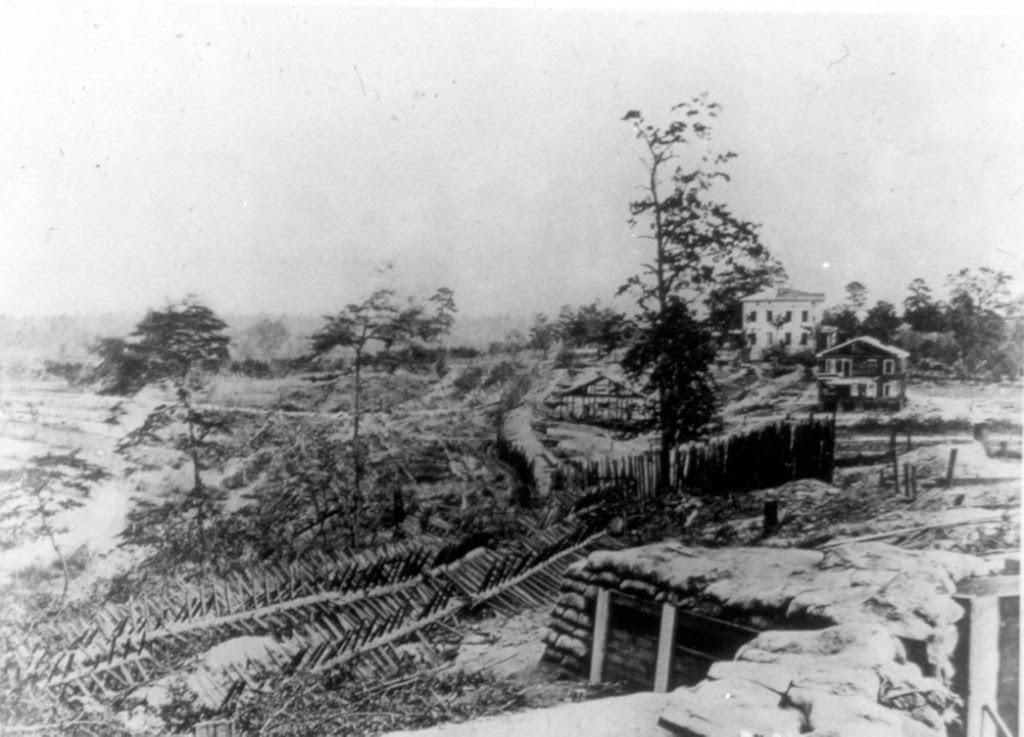 Vicksburg trenches