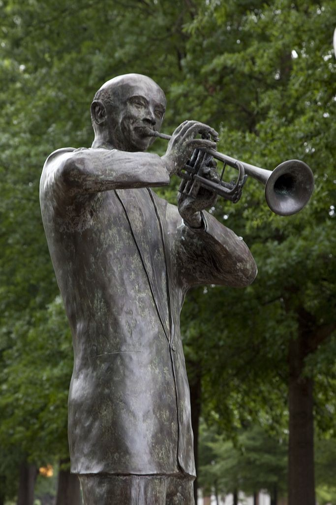 W. C. handy statue in florence