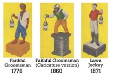 Lawn Jockeys and the Underground Railroad – a fact many people may not realize