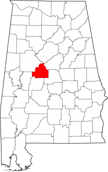 Bibb County, Alabama was once a part of Monroe and Montgomery counties