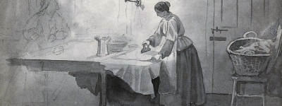 PATRON + SATURDAY SECRETS -Removing spots and stains - some ways were dangerous in the 1890s