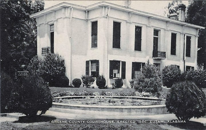 Greene County Courthouse ca. 1837 (ADAH)