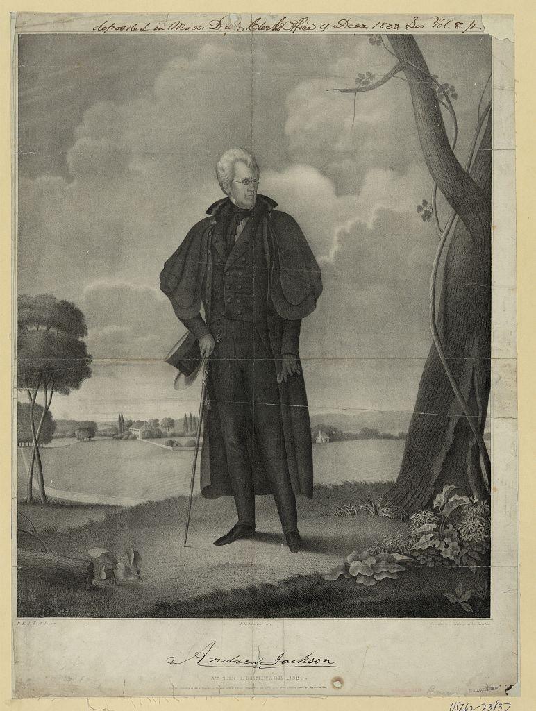 Jackson, Andrew Jackson 1832 (Library of Congress)