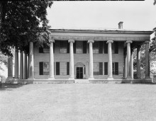 Forks of Cypress -1822 mansion in Florence, Alabama, had an air-conditioned basement [see pics & films]