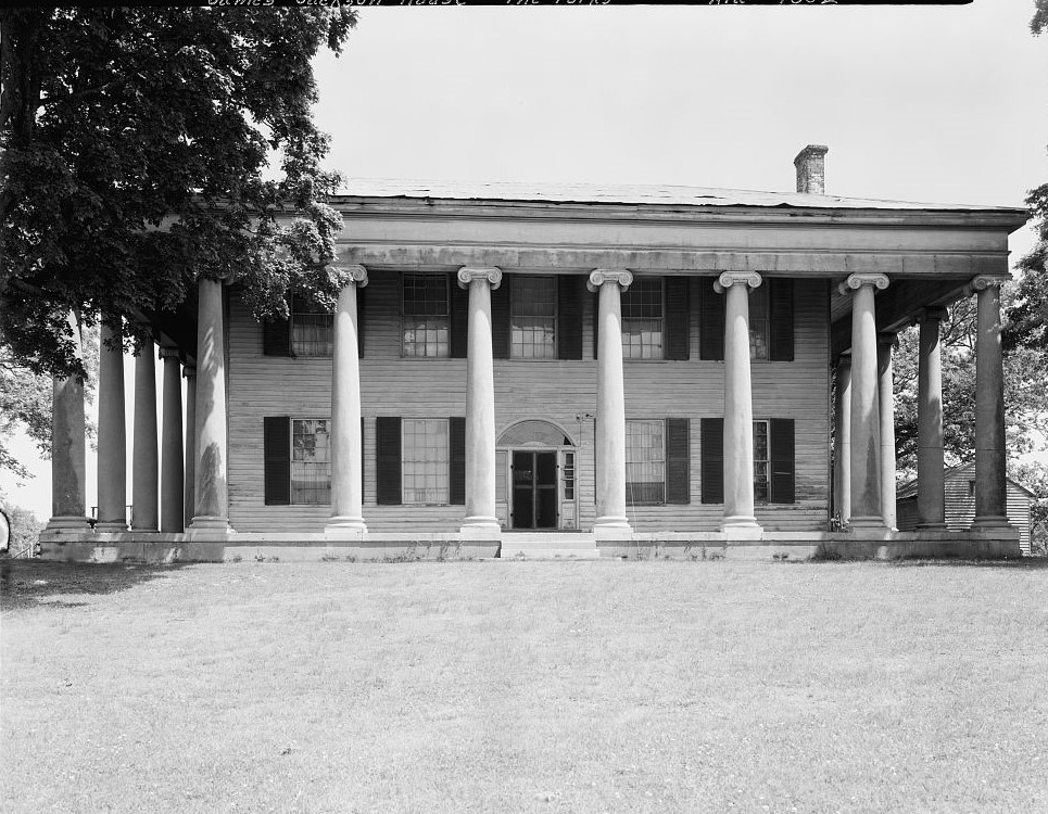James Jackson house W. N. Manning, Photographer, FEB. 2, 1934. Forks of Cypress, Florence, Lauderdale County, AL