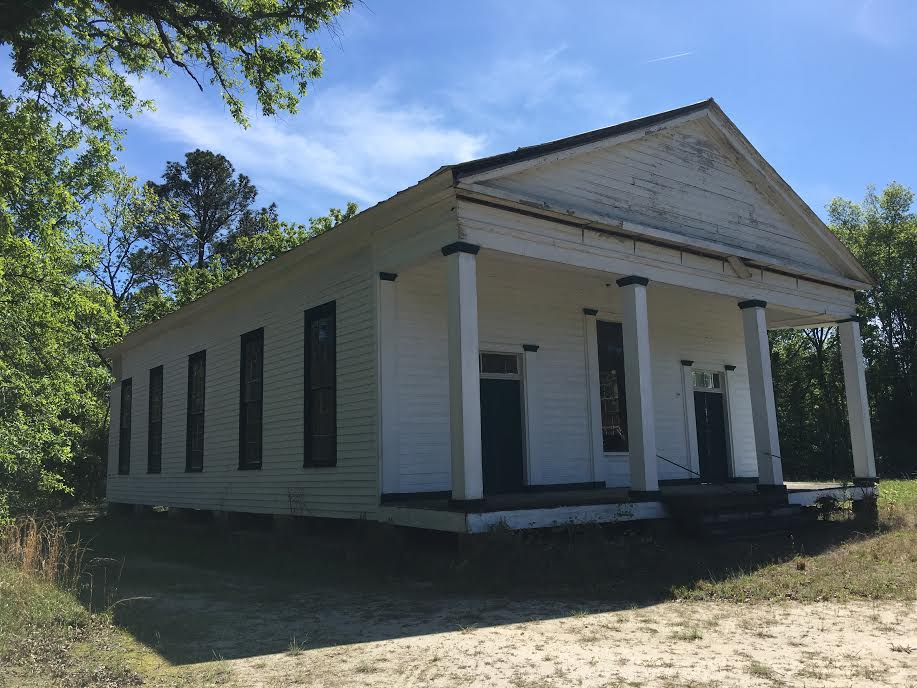 Thanks to dedicated community members, Uchee Chapel Methodist is in remarkable condition.