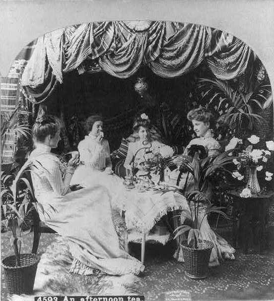 Afternoon of Tea ca. 1909 (Library of Congress)