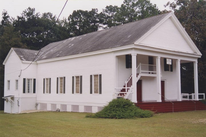 Belleville Baptist Church west side County Road 15 in the historic area of Belleville, Alabama. (Alabama Department of Archives and History)