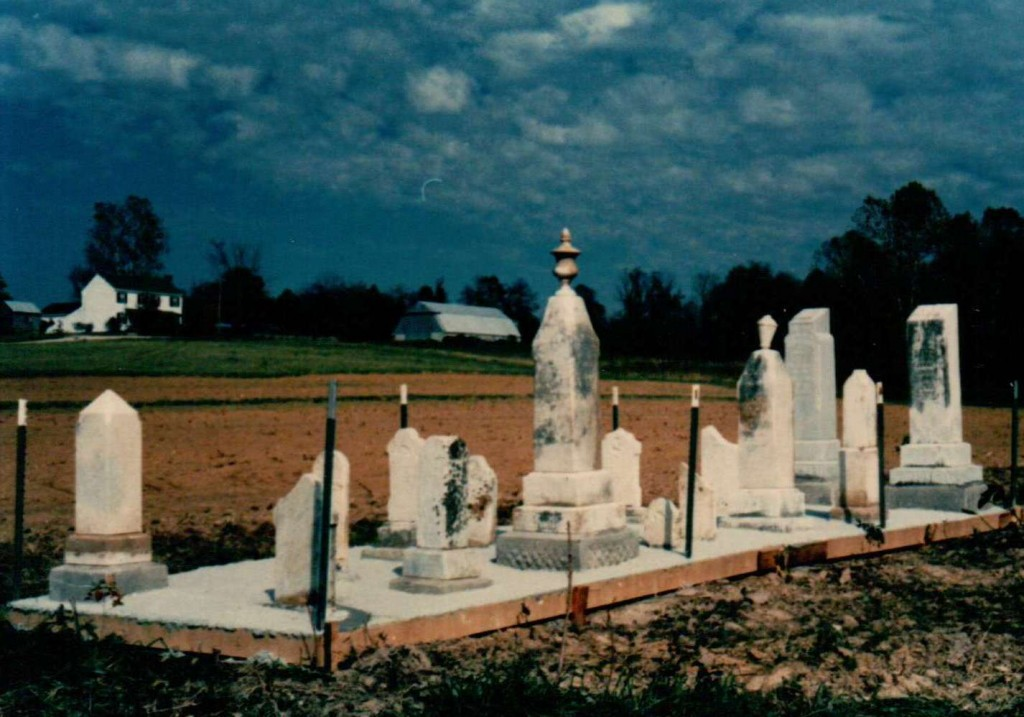 DeJarnette-Cemetery-no. 1 after renovation-in-Autauga-County-Alabama