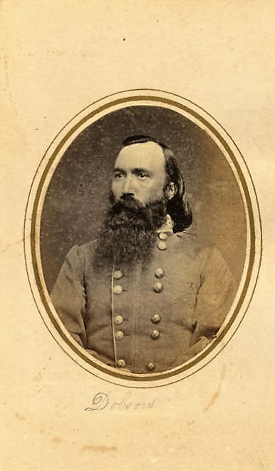 Some pictures of men from the Confederate military at the ADAH