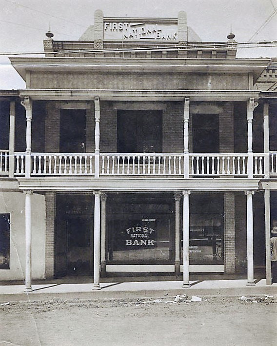 First National Bank in Wetumpka, Alabama. ca. 1910 (Alabama Department of Archives and History)