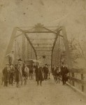 October 10, 1885- There was a big celebration when the Bibb County, Alabama iron bridge was opened in 1885 [see pics & story]
