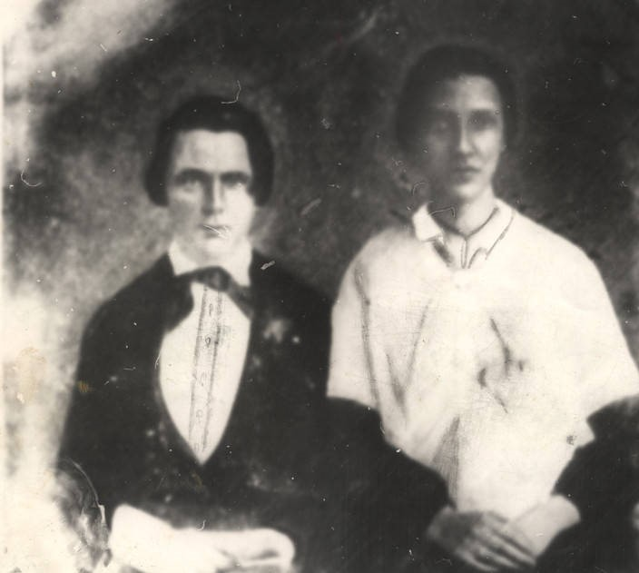 John Green and his wife Nancy Betts Jones Green, of Conecuh County, Alabama. (Alabama Department of Archives and History)