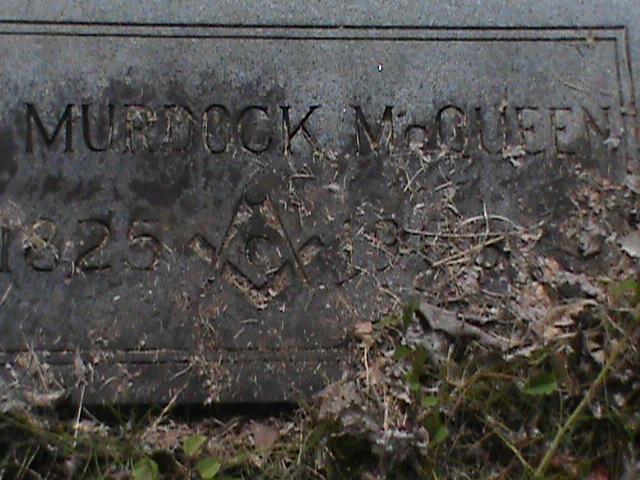 Murdoch-McQueen tombstone