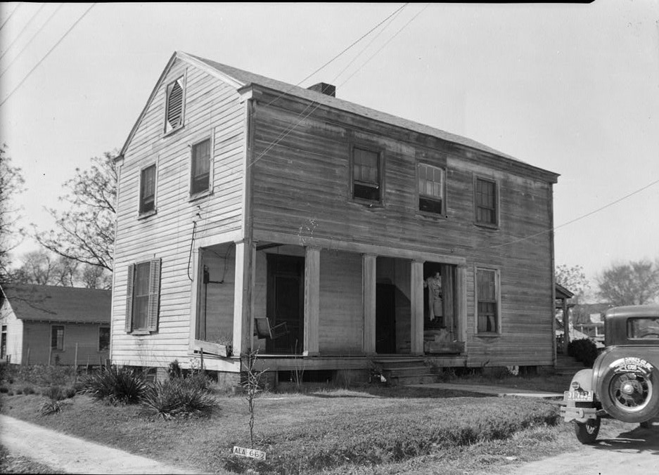 Old Tavern, Broad & West Bridge Streets, Wetumpka, Elmore County, AL (Library of Congress)