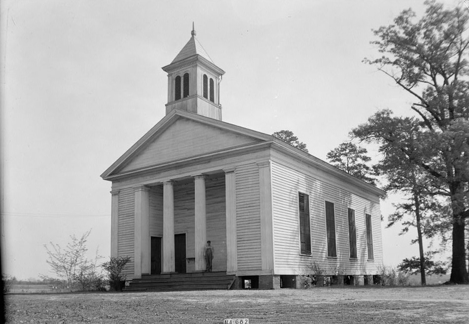 Robinson Springs Methodist church 1939
