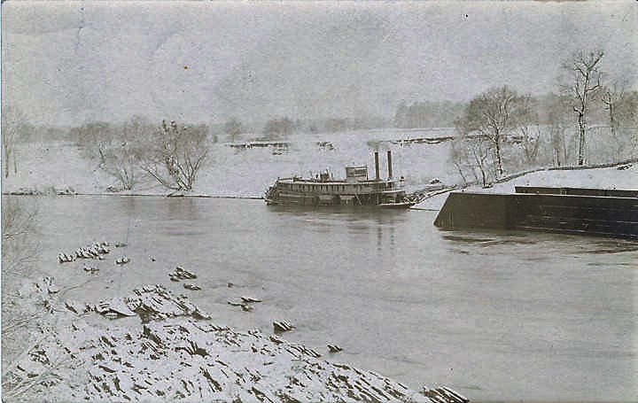 When steamboats came up to Wetumpka. (Alabama Department of Archives and History)