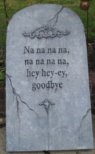 TOMBSTONE TUESDAY: What were they really trying to say?