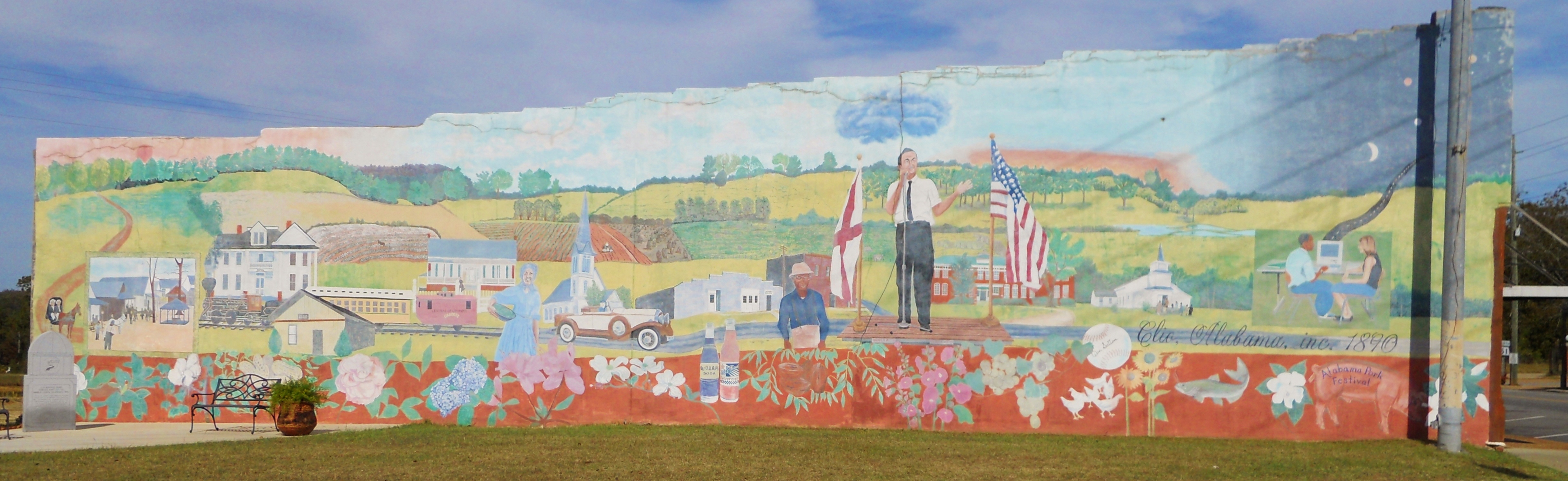 A short drive in Southeast Alabama takes you through several historic sites